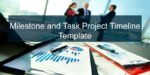 Milestone and Task Project Timeline Template