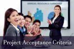 Project Acceptance Criteria